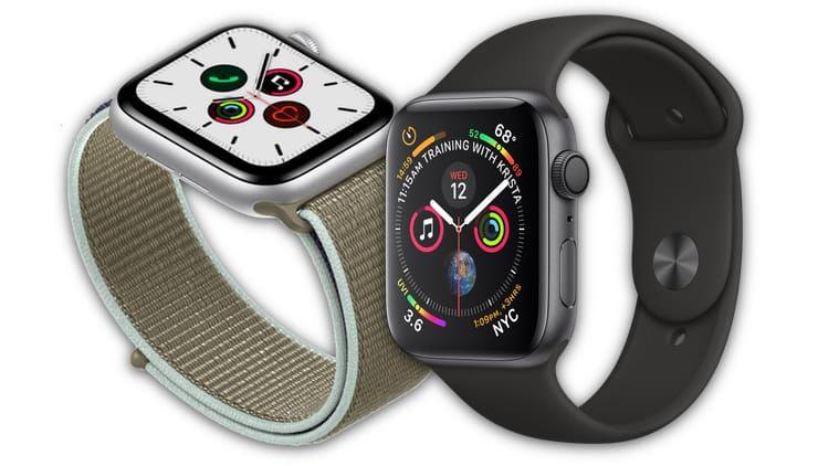Сравнение Apple Watch Series 5 и Apple Watch Series 4 – есть ли разница?