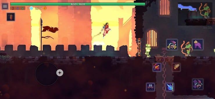 Обзор игры Dead Cells для iPhone и iPad