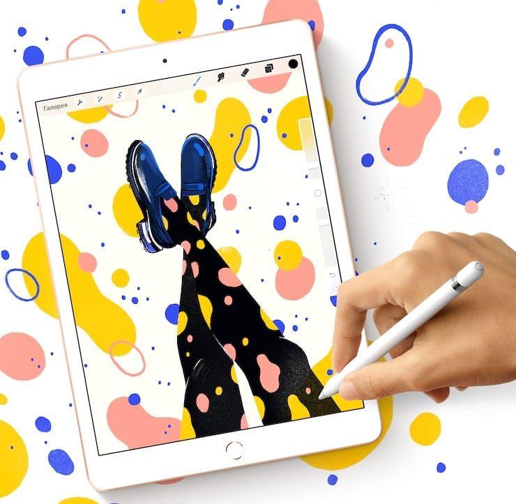 Дисплей iPad 7 2019 года