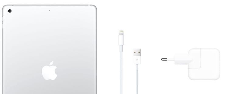 Комплект поставки iPad 2019 года