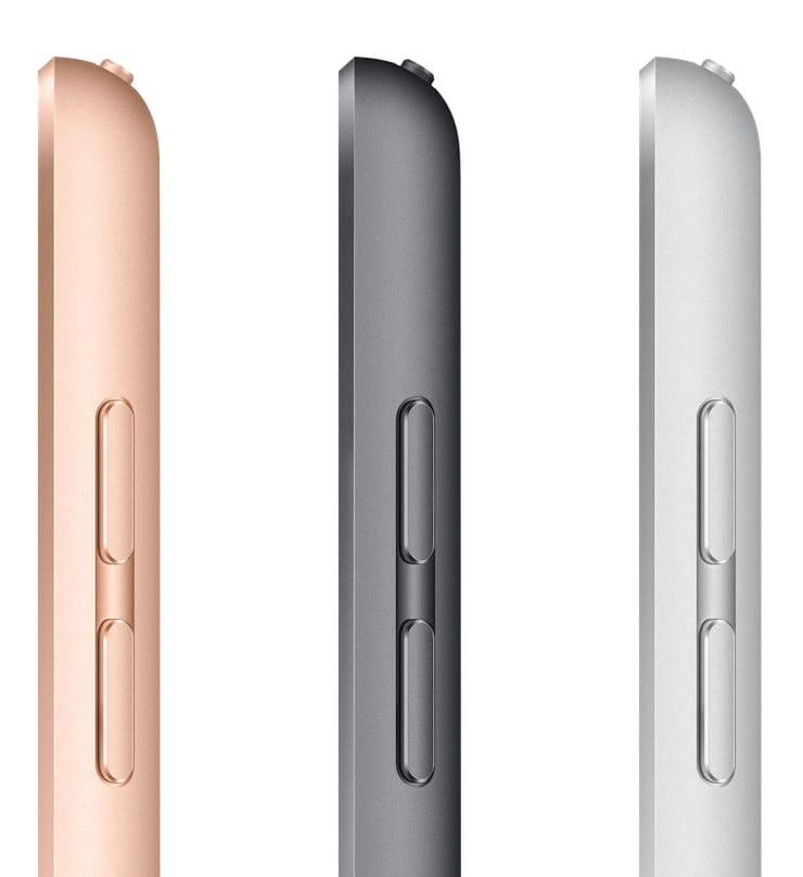 Цвета iPad 2019 года