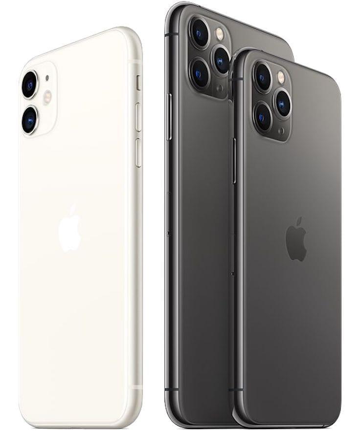 Дизайн и материалы корпуса iPhone 11 и iPhone 11 Pro