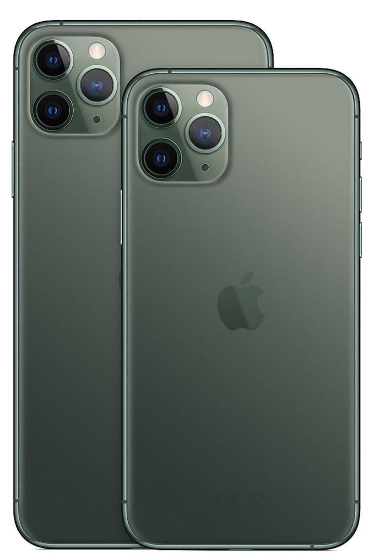Дизайн iPhone 11 Pro и iPhone 11 Pro Max