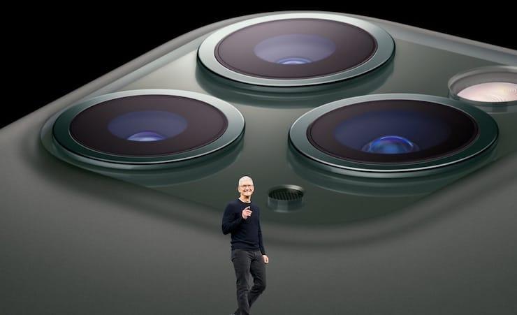 iPhone 11 Pro Тим Кук