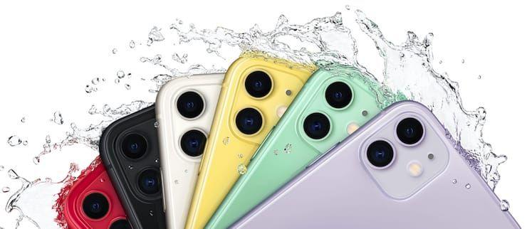 Защита от воды и пыли в iPhone 11