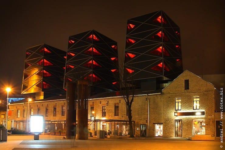 Столярная мастерская превратилась в офисный центр и жилой комплекс, Эстония, Таллин