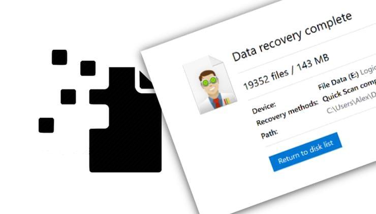 Программы для восстановления удаленных файлов на жестком диске компьютера
