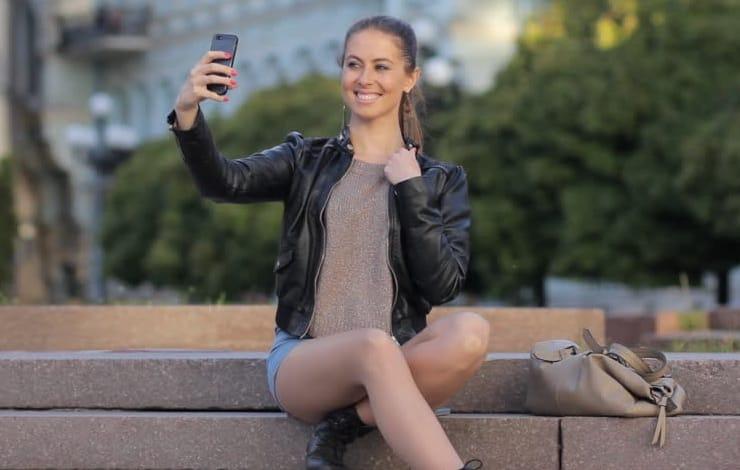 Селфи на iPhone