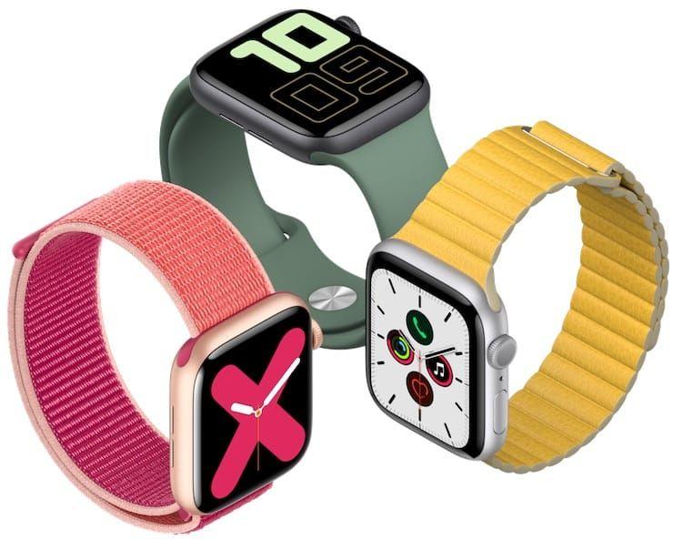 «Железо» Apple Watch Series 5