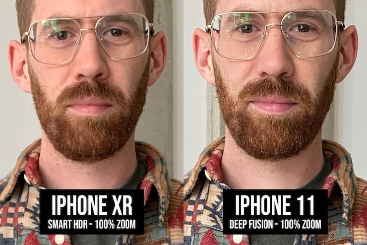 Deep Fusion в камере iPhone