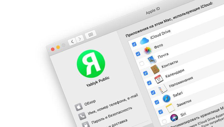 Как управлять учетной записью Apple ID в «Системных настройках» на Mac