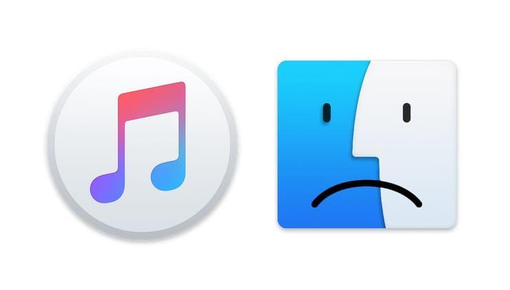 Где iTunes, или что делать, если iPhone или iPad не определяется в macOS Catalina