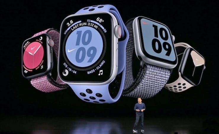 WatchOS 6 для Apple Watch Series 1 и Series 2