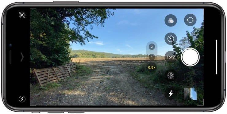 Как выбирать соотношение сторон камеры на iPhone 11 и iPhone 11 Pro