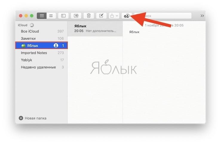 Как поделиться папкой или заметкой только для просмотра или с возможностью редактирования на Mac