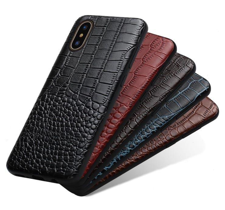 Чехол для iPhone из натуральной кожи