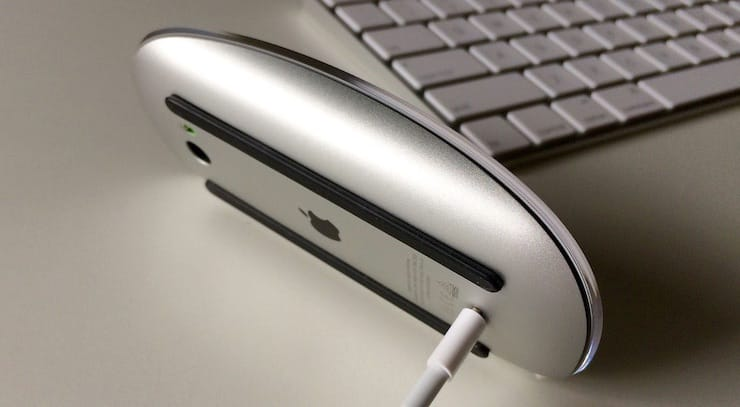 Мышь Magic Mouse нельзя использовать, пока она заряжается
