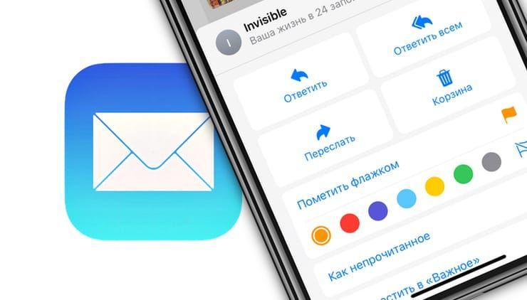 функции приложения «Почта» в iOS 13 и iPadOS