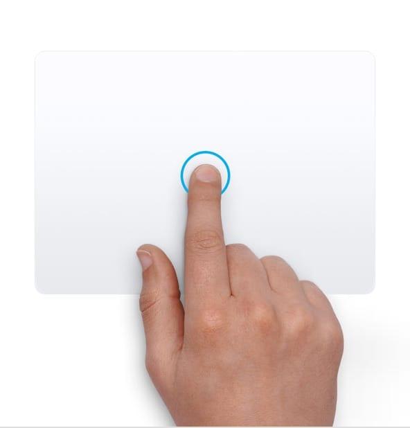 Щелчок нажатием - жесты трекпада в MacBook