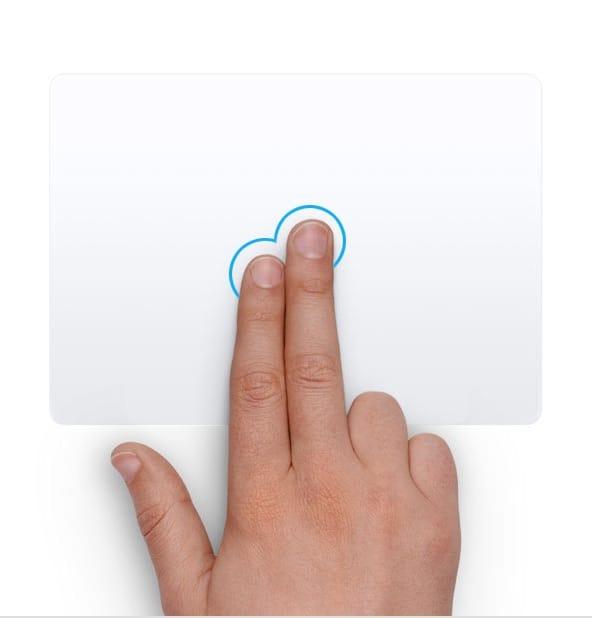 Щелчок правой кнопкой мыши