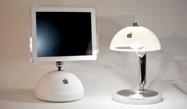 Лампа из iMac