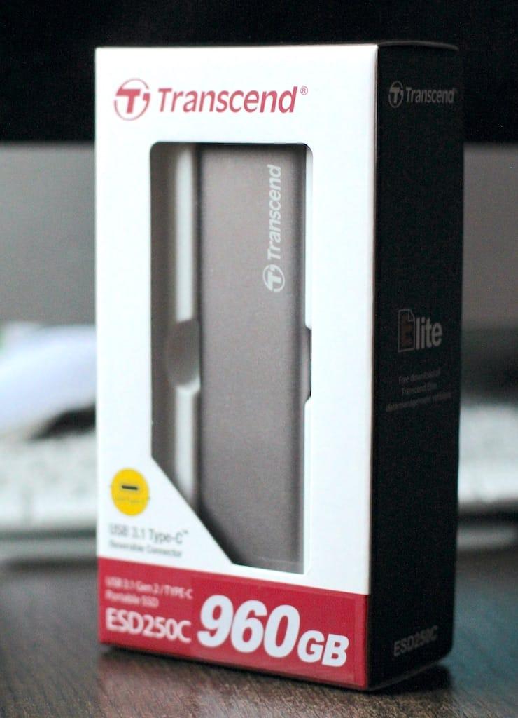 Обзор Transcend ESD250C – быстрый внешний SSD-накопитель