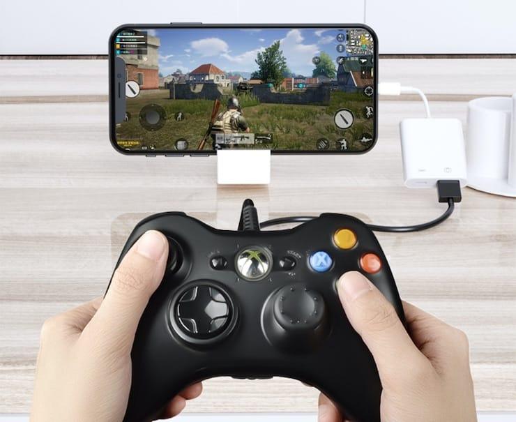 Подключение геймпада к iPhone