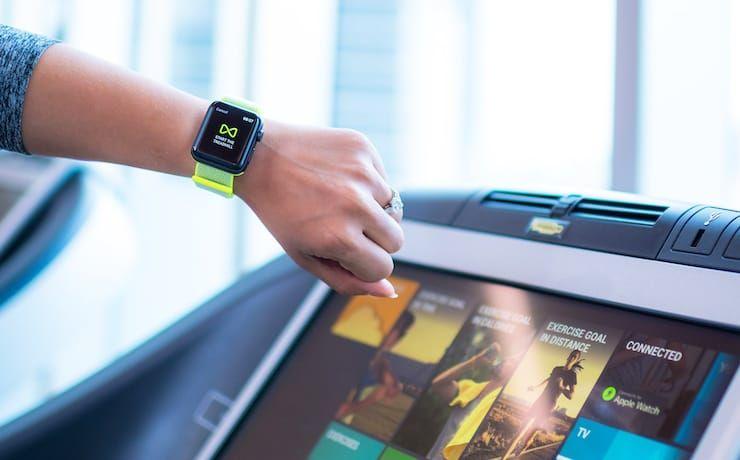 Как Apple Watch подключать к тренажерам и беговым дорожкам