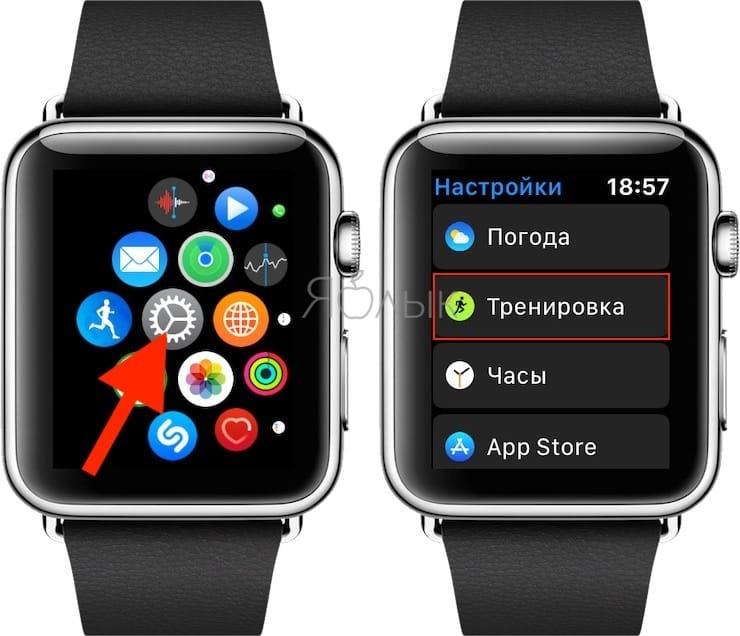 Как подключить Apple Watch к тренажерам
