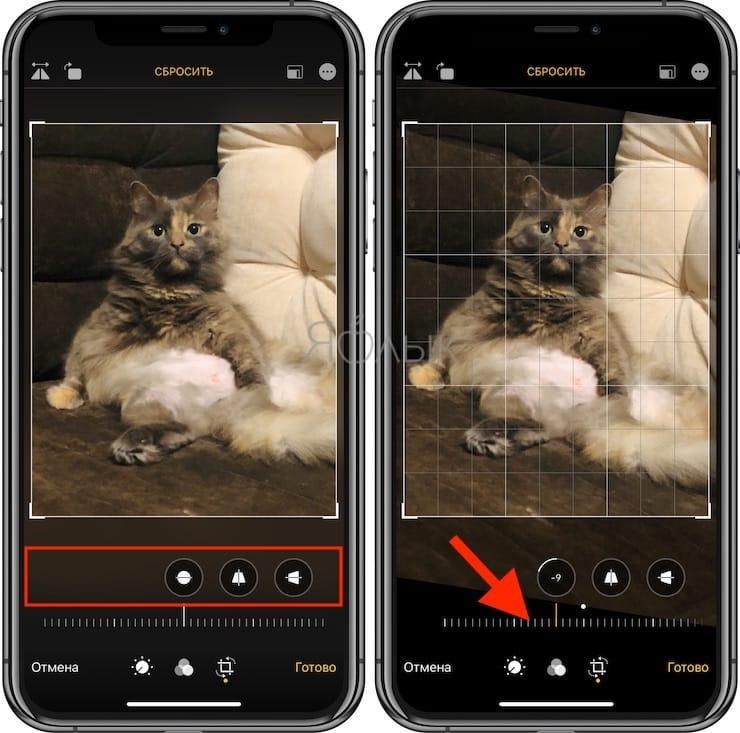 Как повернуть фото на Айфоне или Айпаде