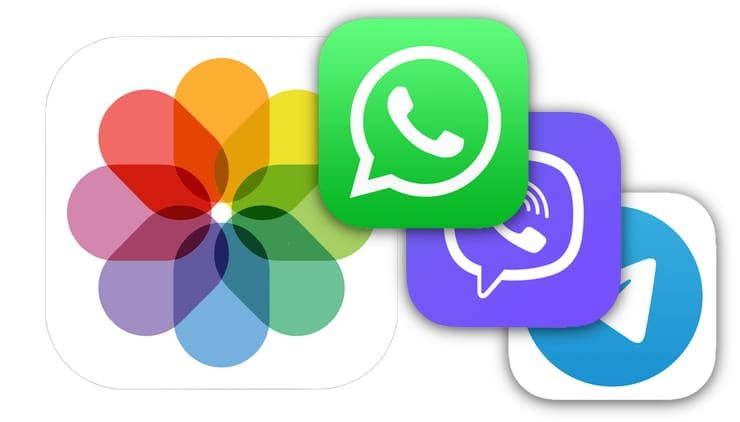 Как отключить автосохранение Фото и Видео в Viber, WhatsApp и Telegram на iPhone