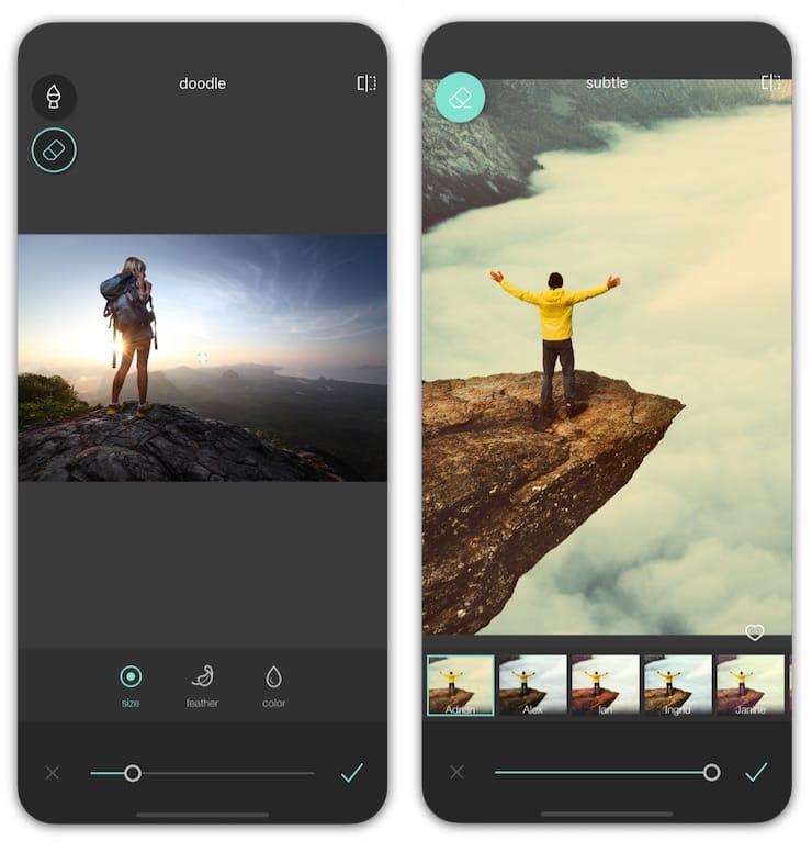Pixlr - редактор фото для iPhone и iPad