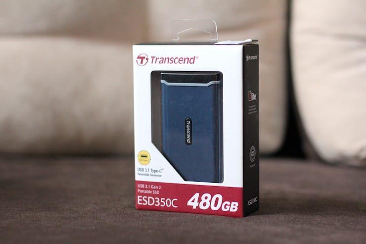 Комплектация Transcend ESD350C