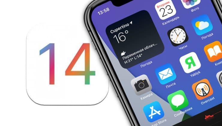 Виджеты в iOS 14 на iPhone или iPad