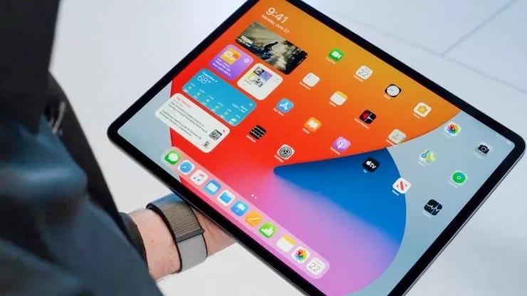 Виджеты на iPad