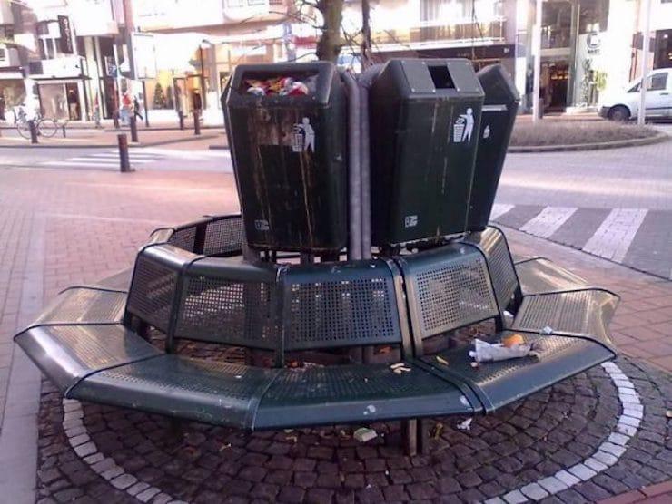 Удобная скамейка