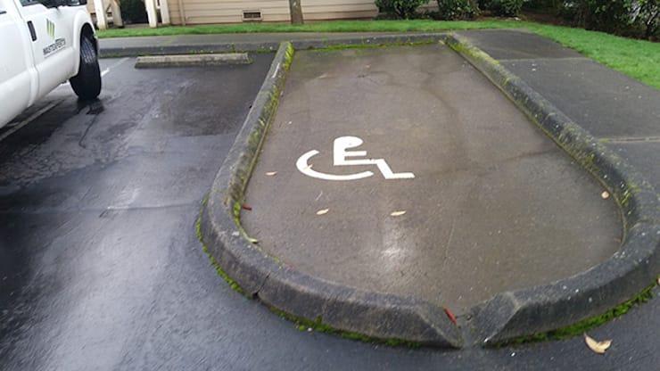 Место для инвалидов