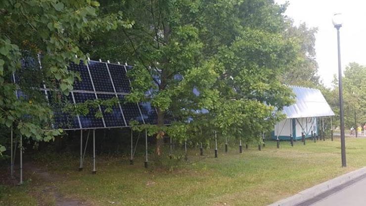 Место для солнечной батареи