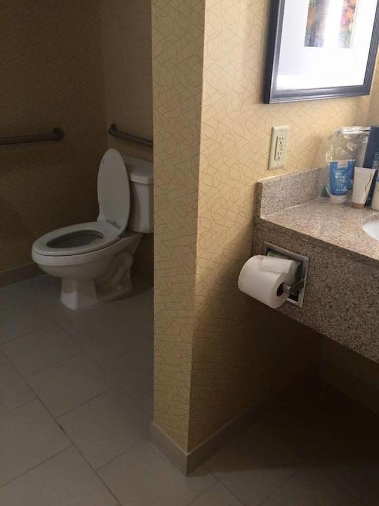 Место для туалетной бумаги