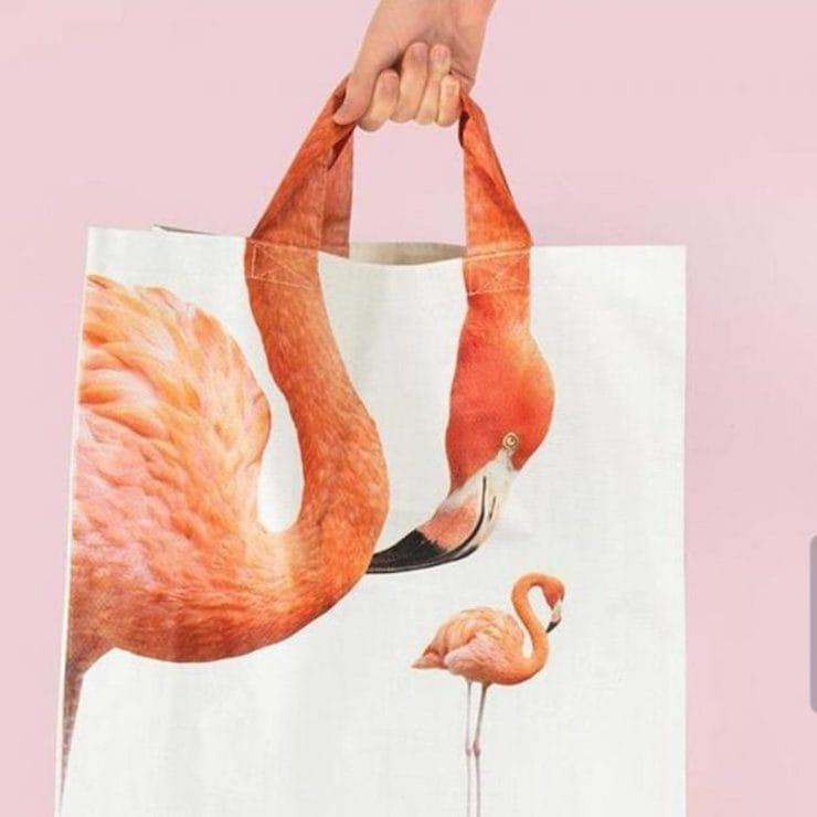 Шея фламинго