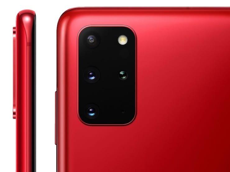 Дизайн Samsung Galaxy S20 и S20+