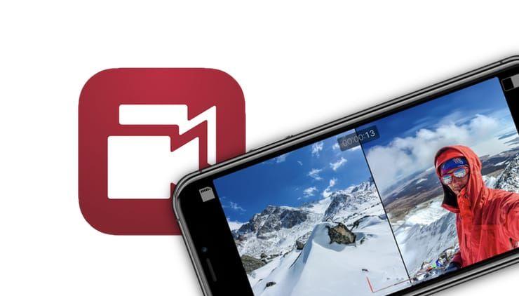 Как на iPhone снимать видео одновременно с двух камер (основной и фронтальной)