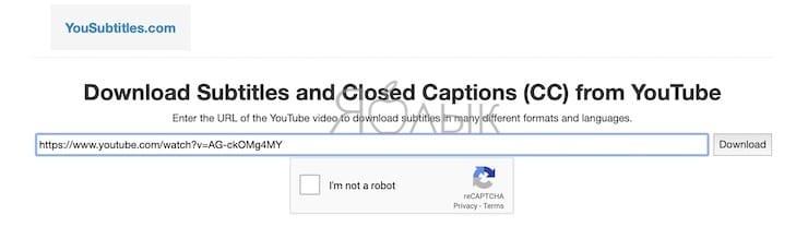 Как скачать видео с YouTube вместе с субтитрами