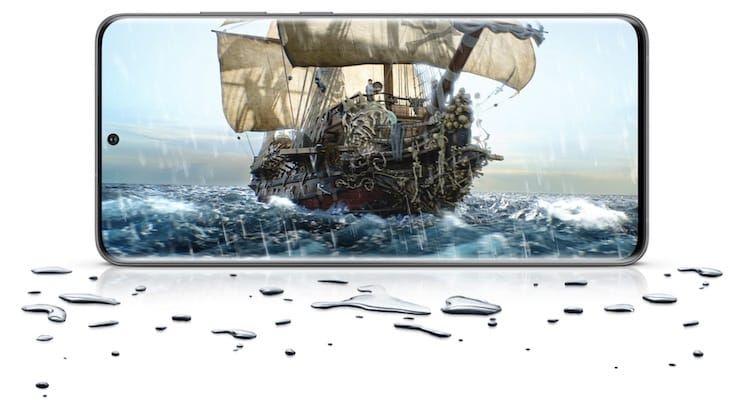 Водонепроницаемость Samsung Galaxy S20 и S20+