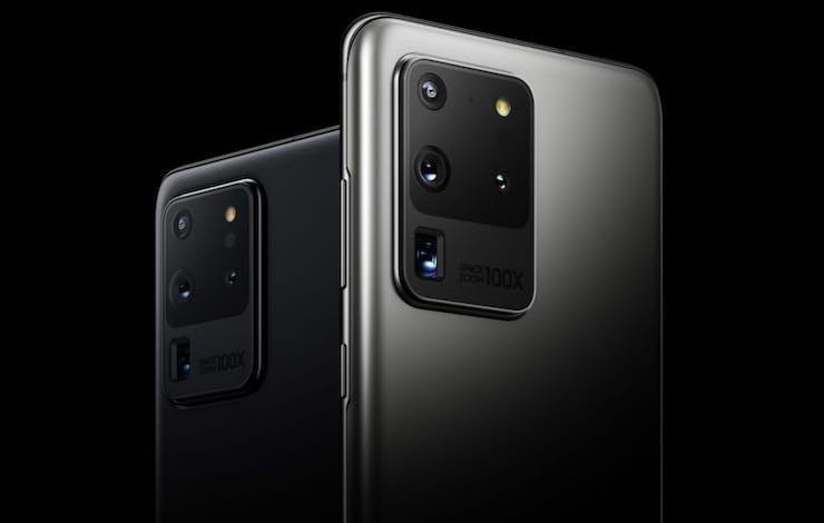 Обзор Samsung S20 Ultra