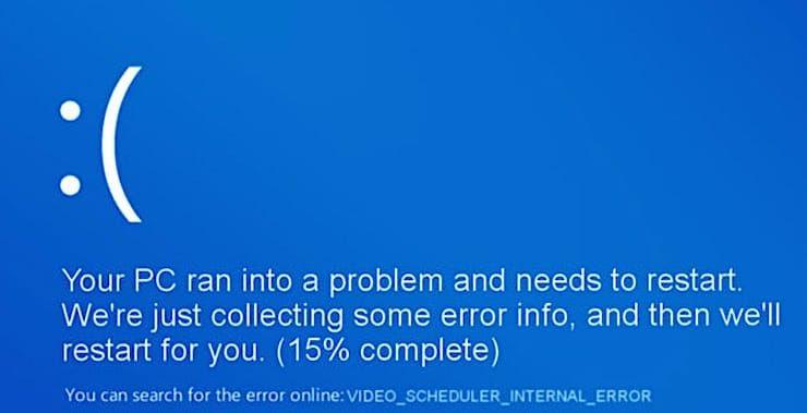 Почему появляется ошибка BSOD Video Scheduler Internal Error на ПК с Windows 10?