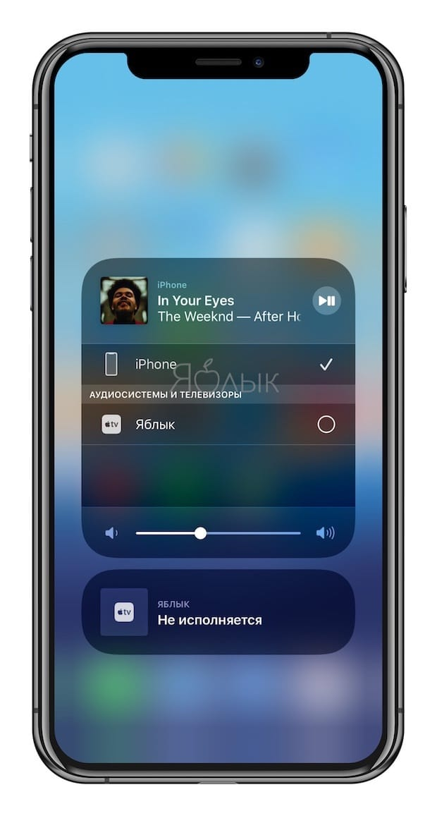Как вывести видео, фото, аудио с iPhone / iPad на Apple TV (телевизор) с помощью функции AirPlay