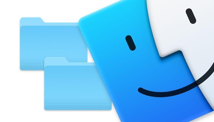 Как объединять папки на Mac (macOS)