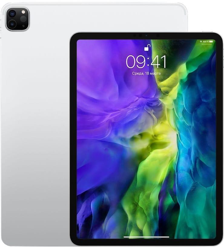 Дизайн и размеры iPad Pro 2020 года