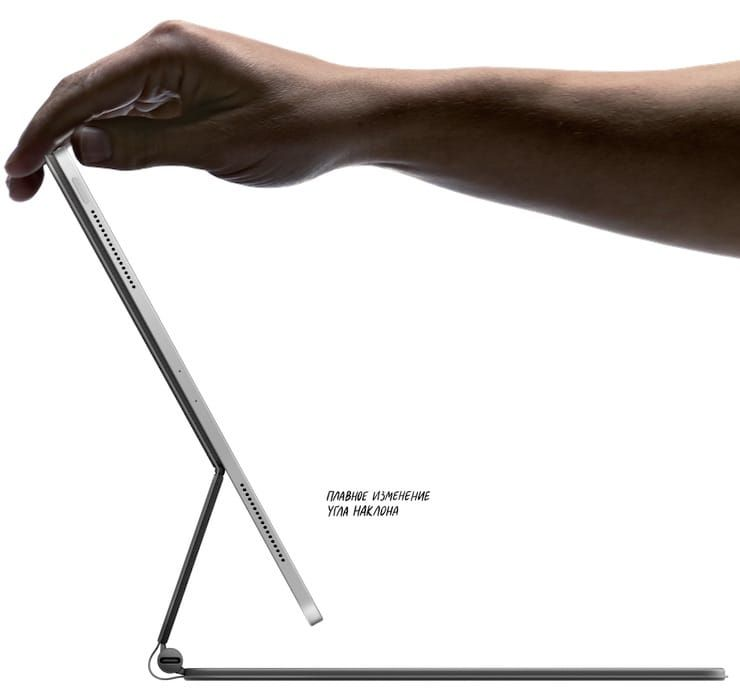 Поддержка Magic Keyboard для iPad Pro